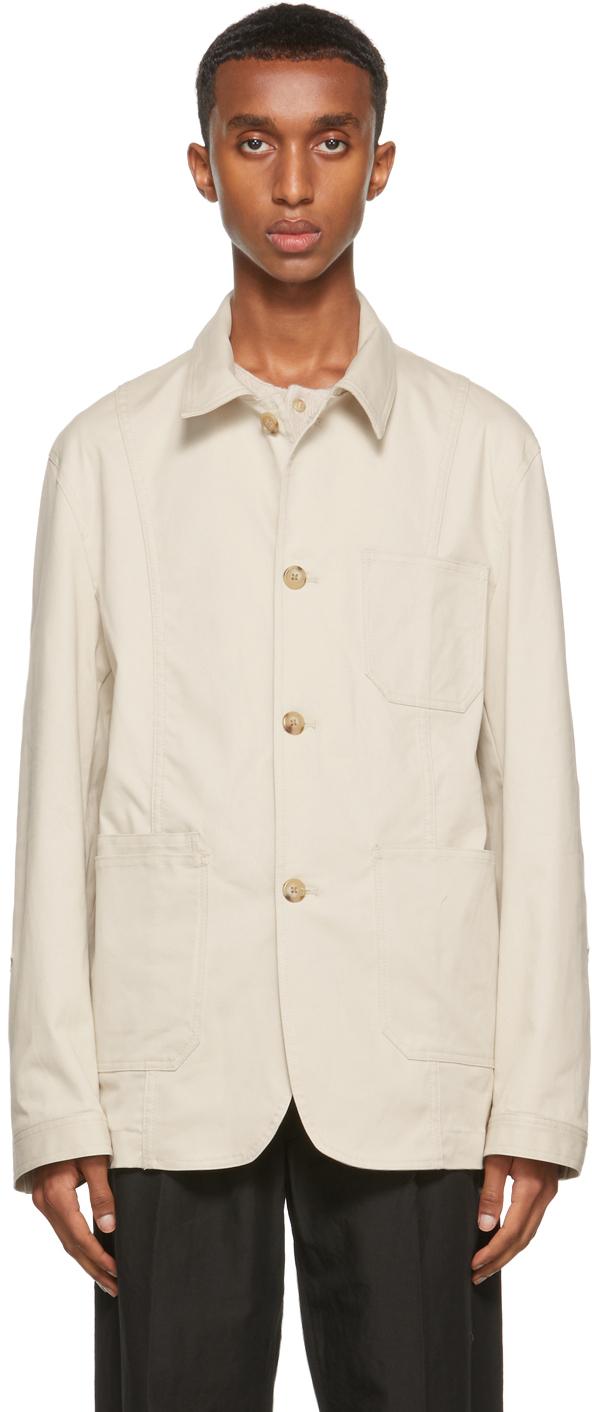 Beige Twill Jackson Jacket
