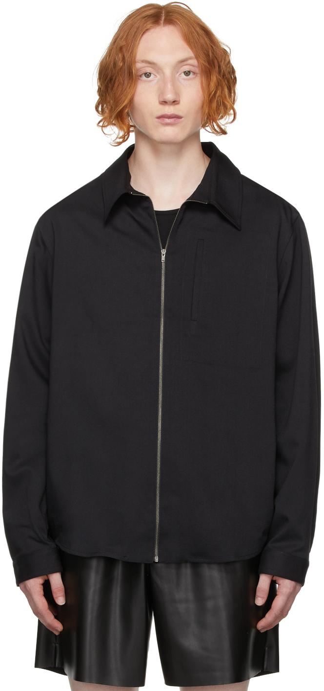 Black Twill Gabe Jacket