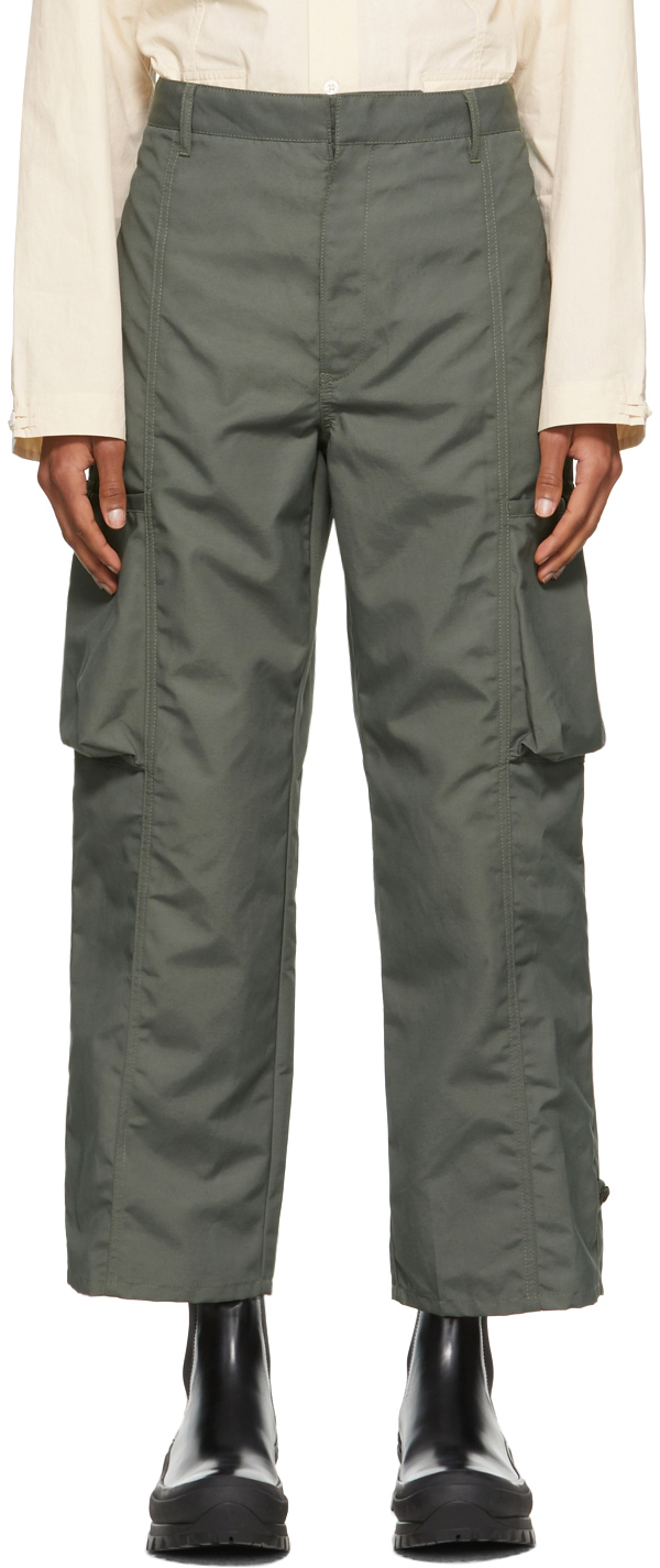 Khaki Canvas Keagan Cargo Pants