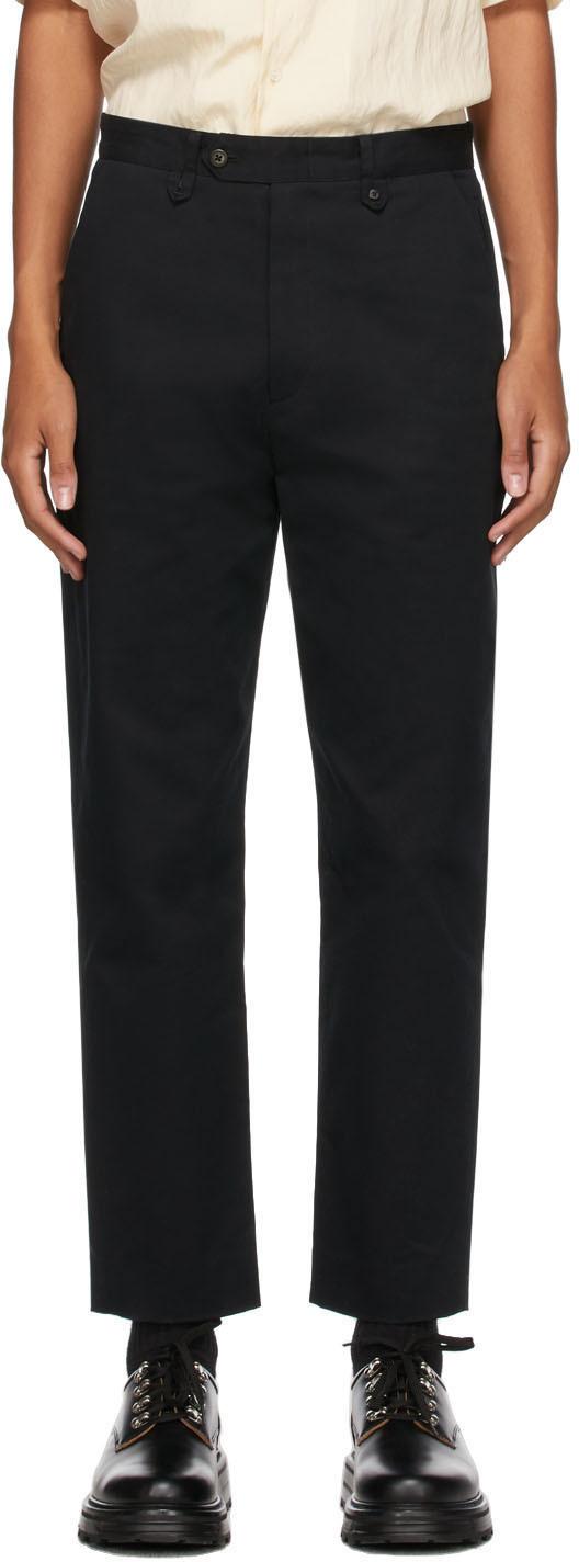 Black Wilbur Trousers