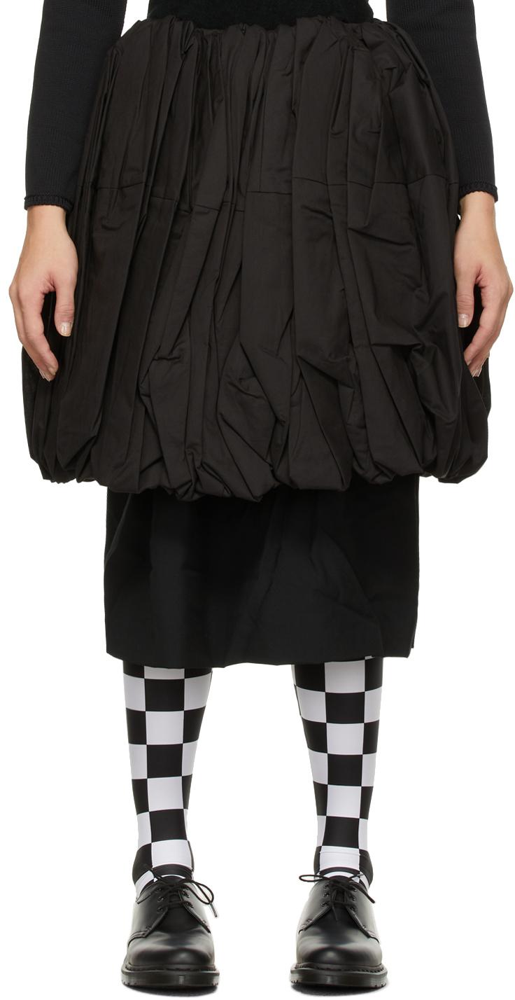 Wool & Cotton Layered Skirt