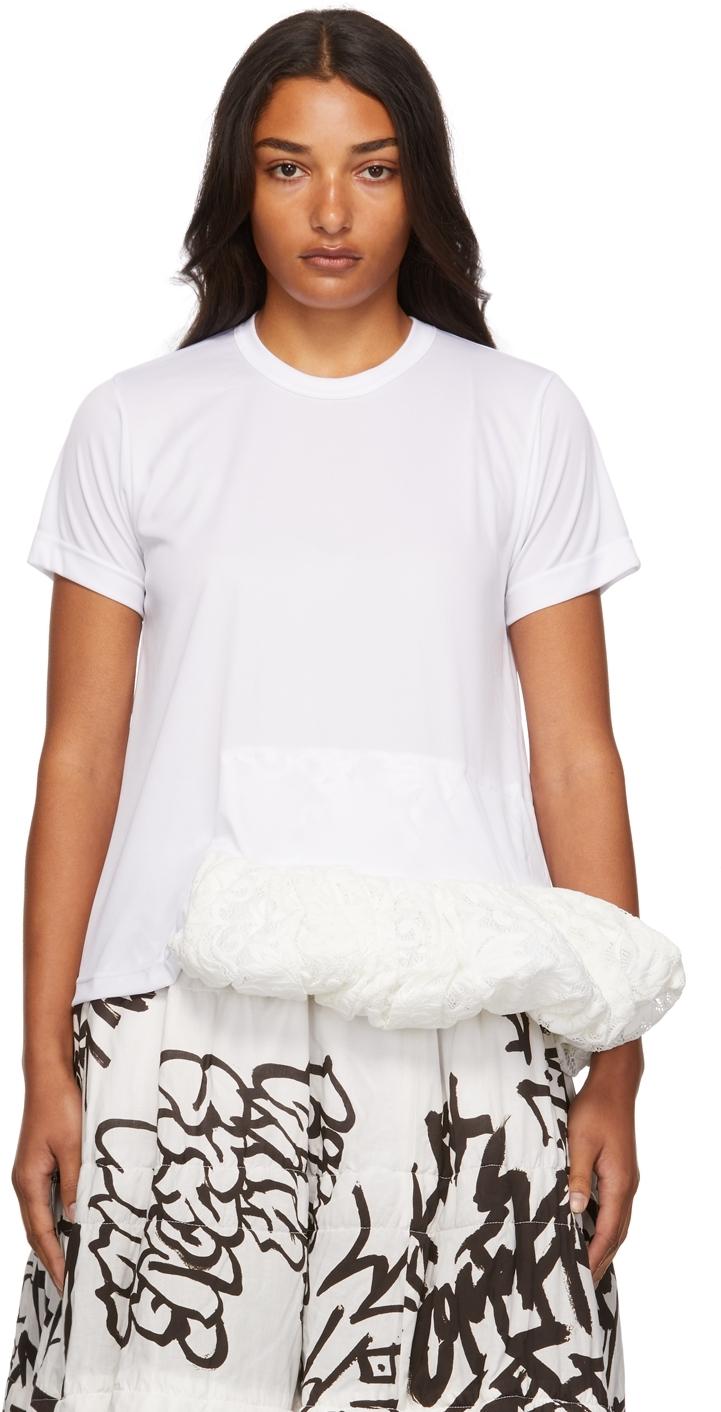 Jersey Raschell Lace T-Shirt