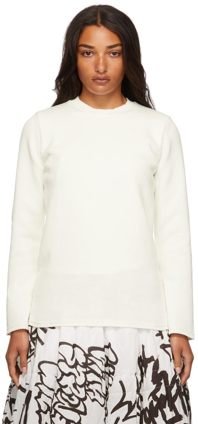 Knit Backless Long Sleeve T-Shirt