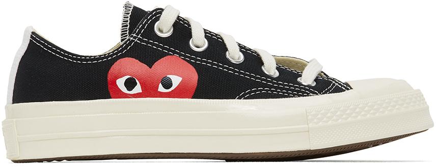 Black Converse Edition Half Heart Chuck 70 Low Sneakers