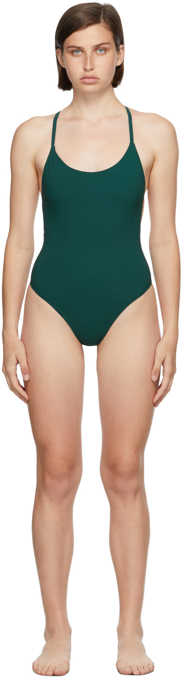 Green Uno One-Piece Swimsuit