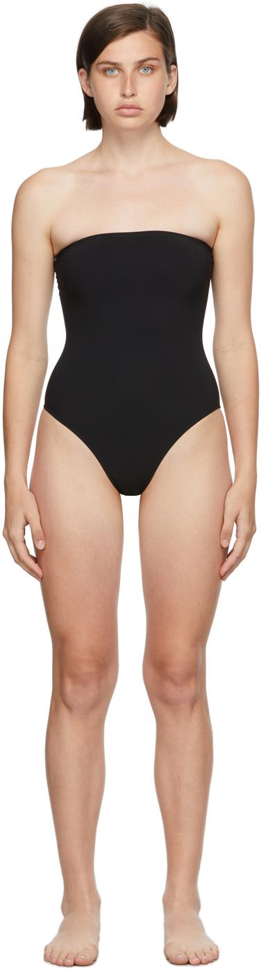 Black Sedici One-Piece Swimsuit