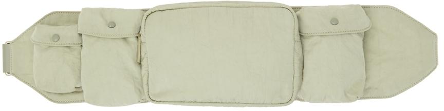 Green Pocket Belt Bag