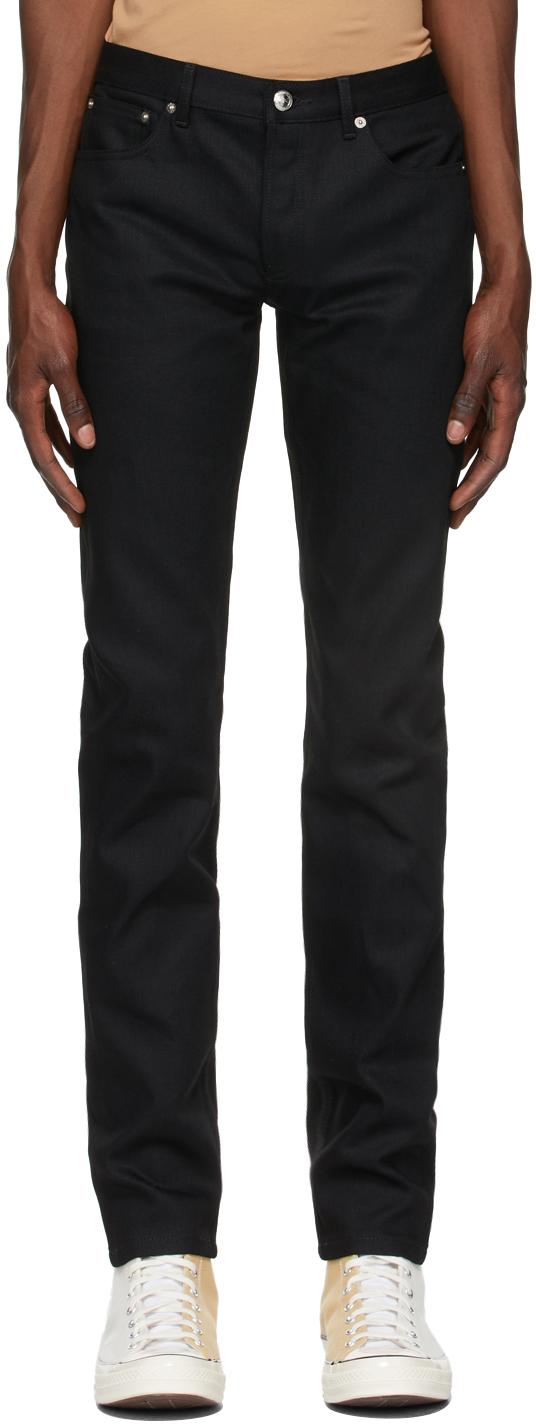 Black Petit New Standard Jeans