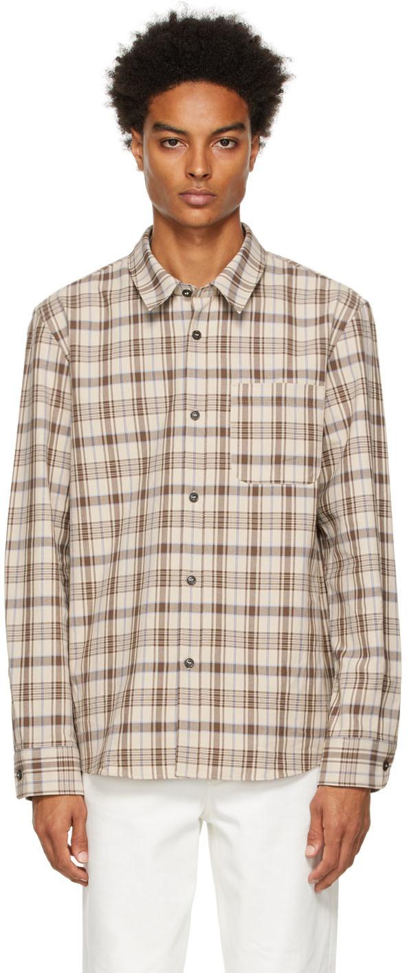 Brown Check Trek Shirt