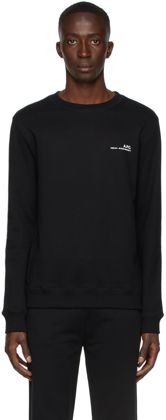 Black Item Sweatshirt