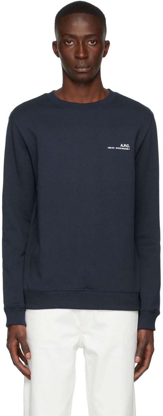 Navy Item Sweatshirt