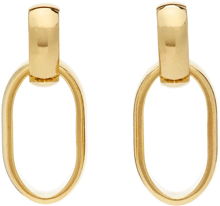 Gold Elena Earrings
