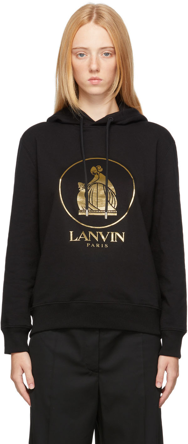 Black & Gold Mother & Child Hoodie