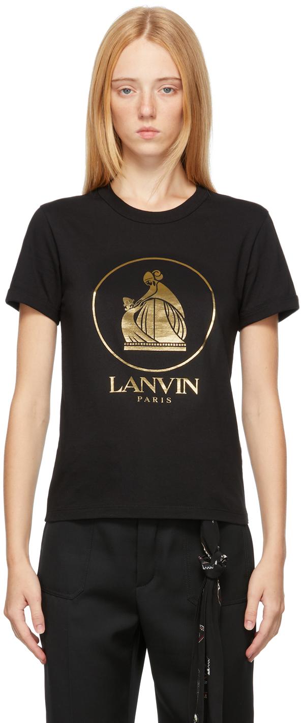 Black & Gold Mother & Child T-Shirt
