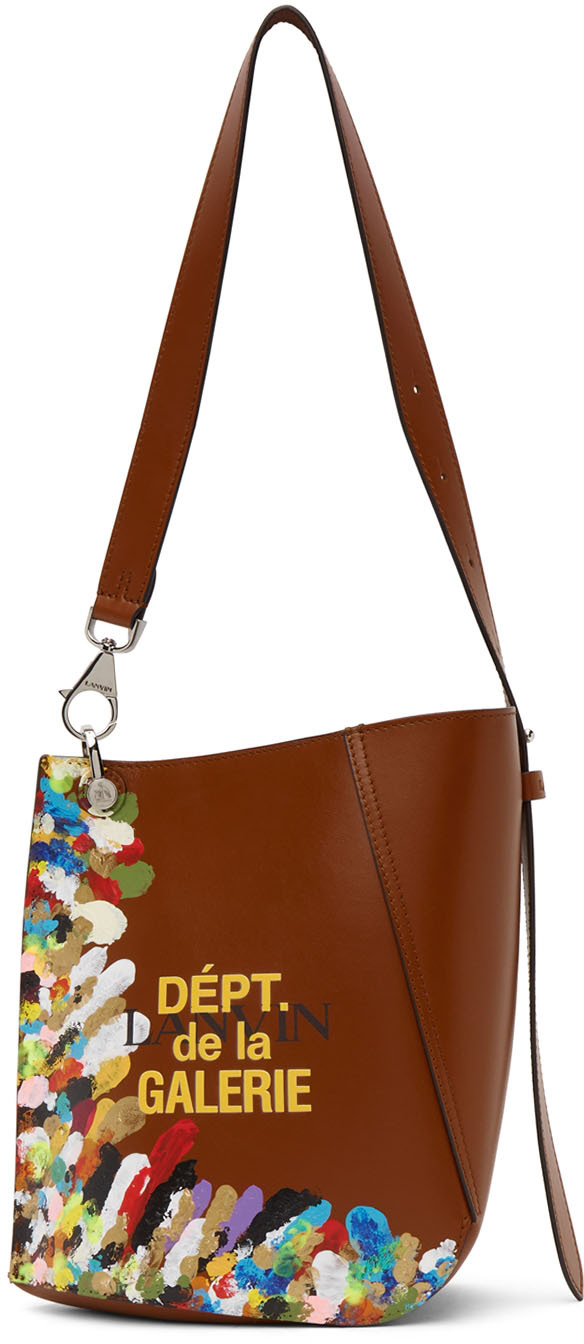 Tan Gallery Dept. Edition Small Hook Bag