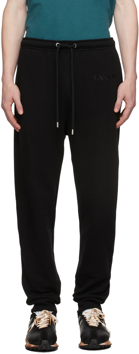 Black Jogging Lounge Pants