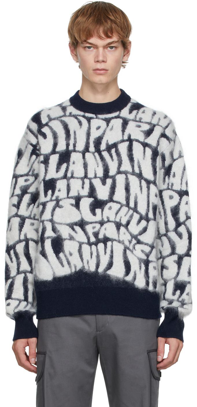 Navy Logo Sweater