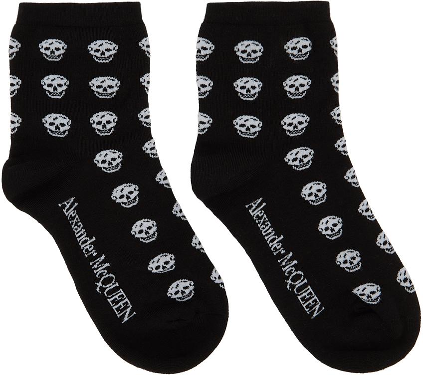Black Multiskull Socks