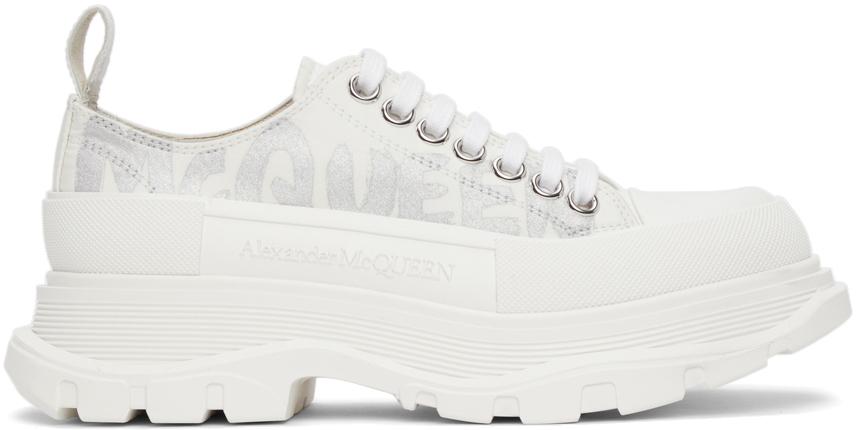 Alexander McQueen Graffiti Sneakers