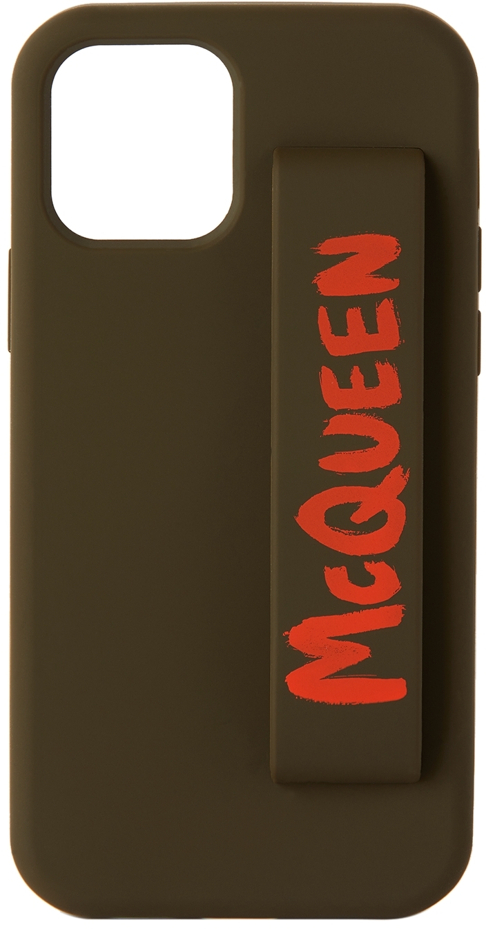 Green & Orange Graffiti iPhone 12 Pro Case