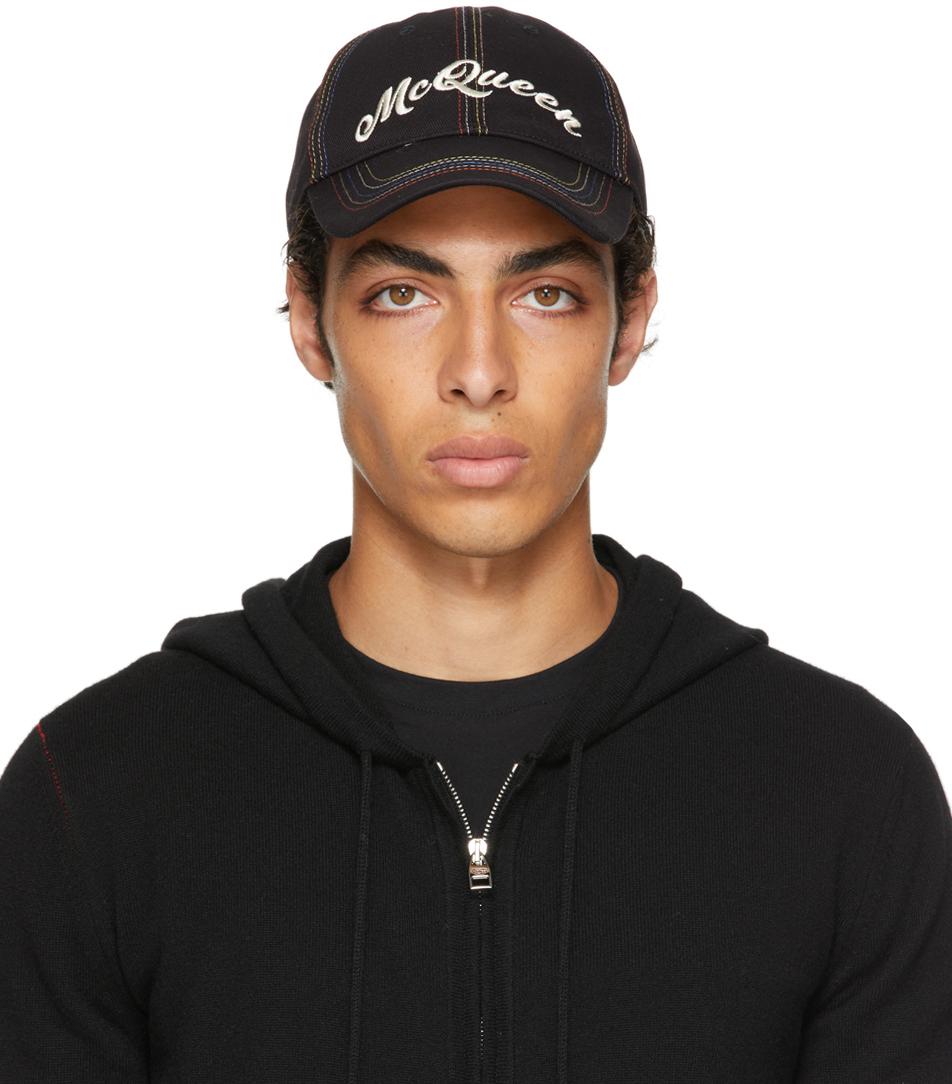 Black & Multicolor Baseball Cap