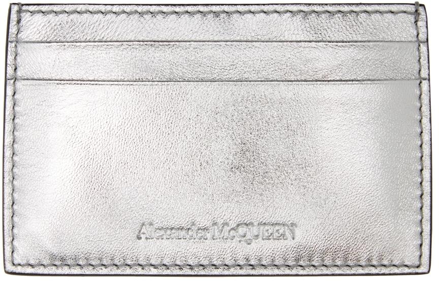 Silver Logo Card Holder