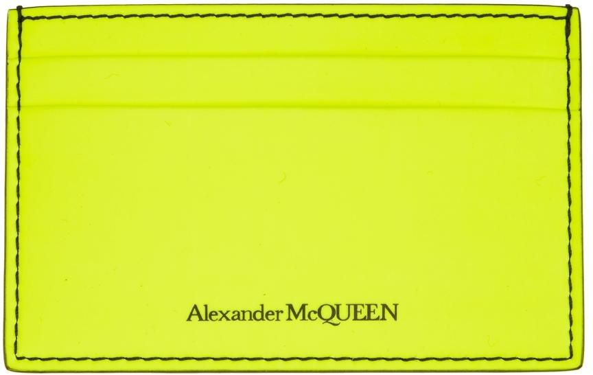 Yellow Logo Card Holder