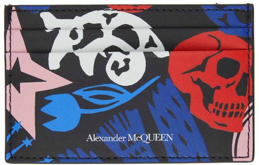 Multicolor Paper Cut Card Holder