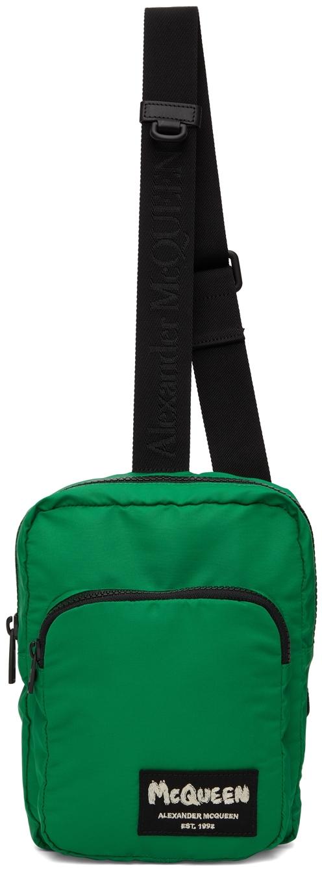 Green Tag Crossbody Camera Bag
