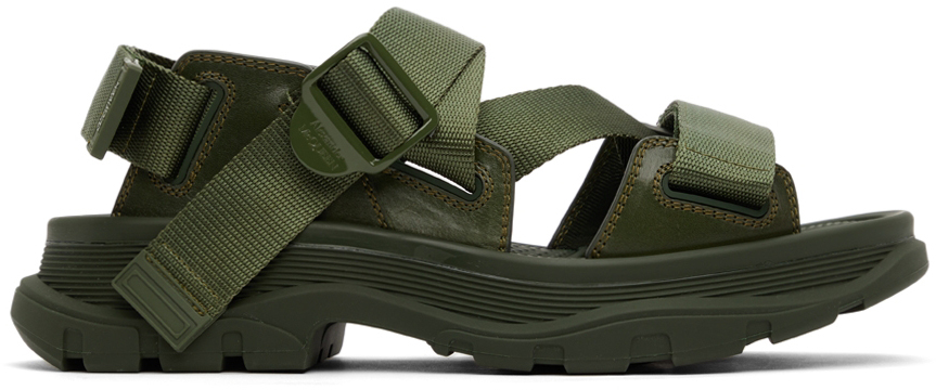 Khaki Tread Sandals