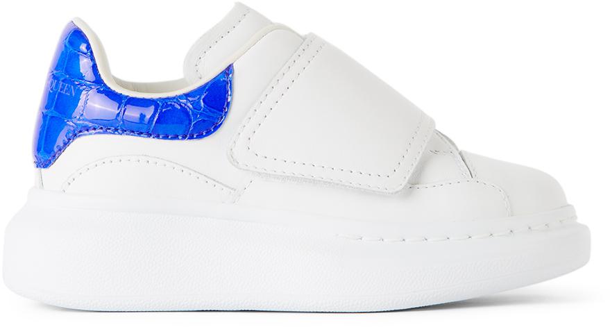 Alexander McQueen Kids White Oversized Sneakers