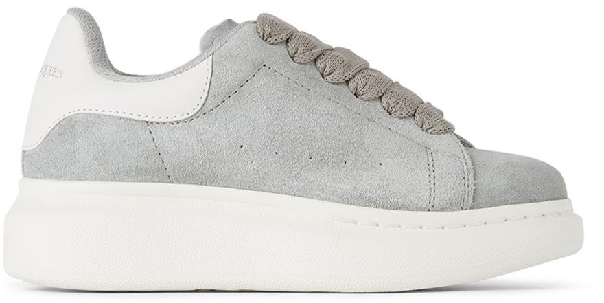 Alexander McQueen Kids Grey Oversized Sneakers