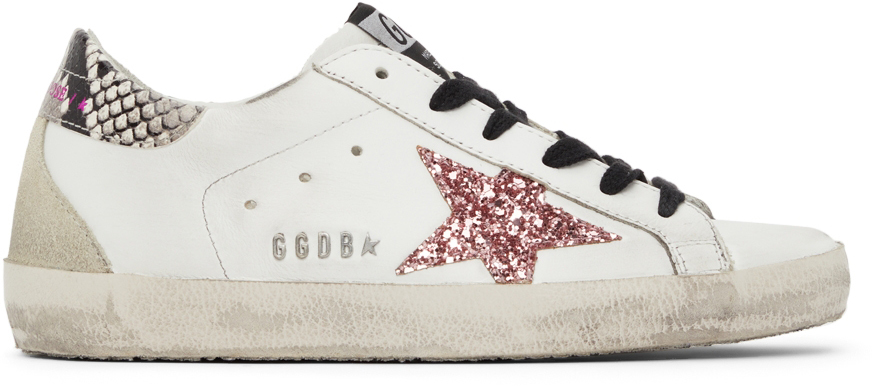Golden Goose Snake Superstar Sneakers