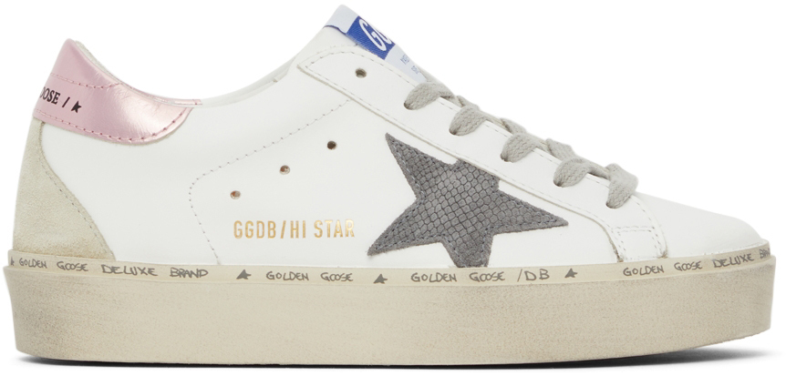 Golden Goose Snake Hi Star Sneakers