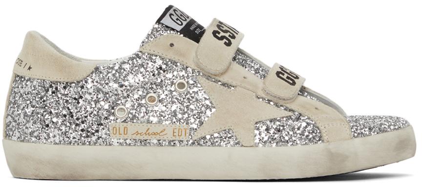 Golden Goose Glitter Old School Sneakers