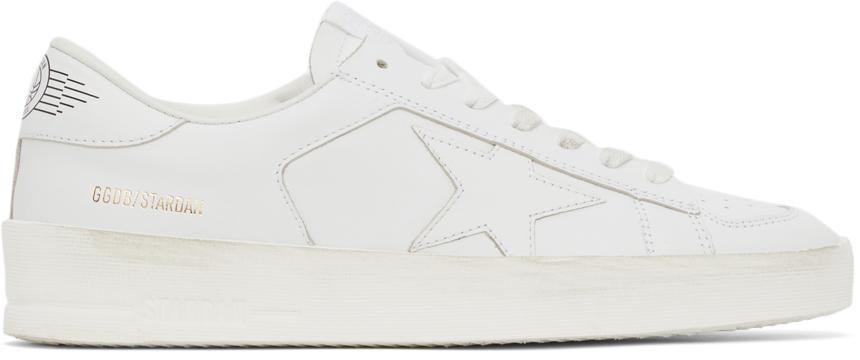 Golden Goose Leather Stardan Sneakers
