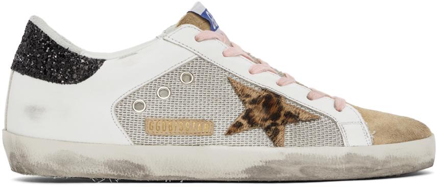 Golden Goose Mesh SuperStar Sneakers
