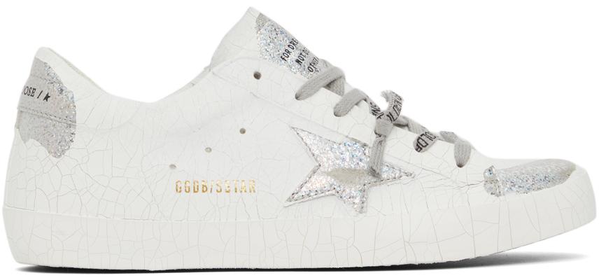 Golden Goose Plaster Superstar Sneakers