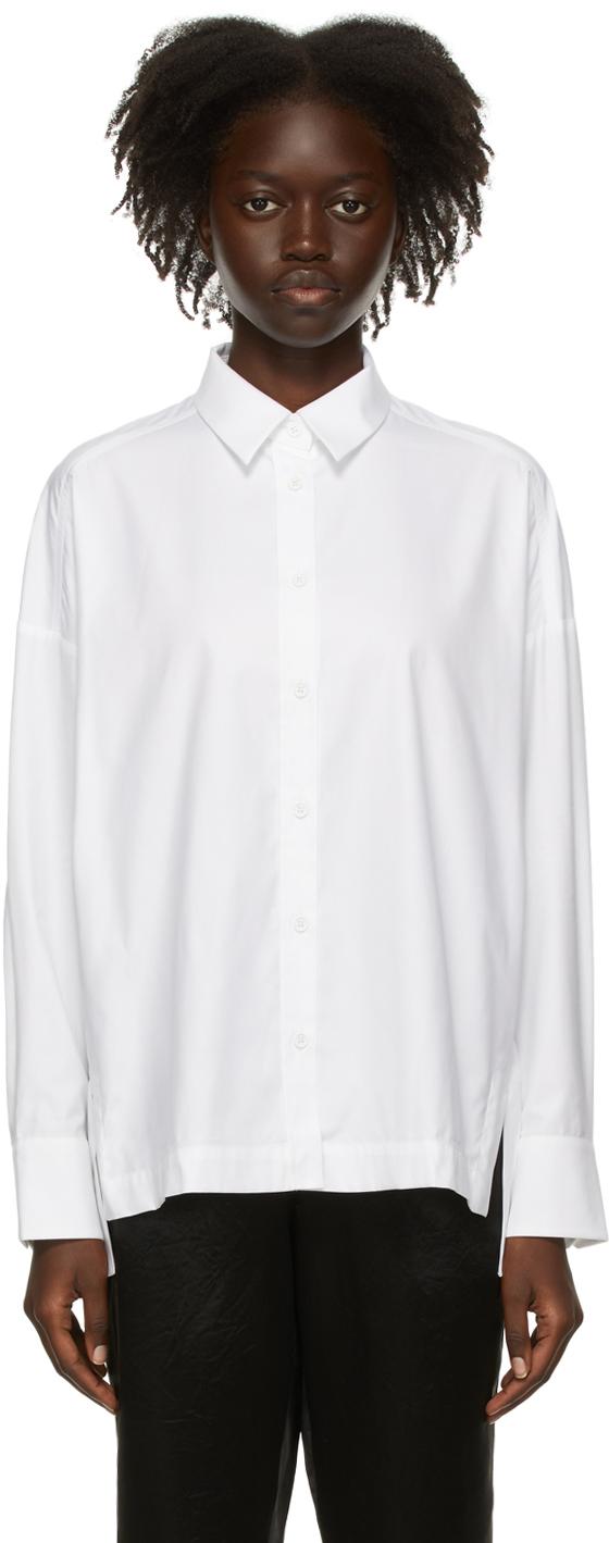 White Lyocell Risposli Shirt