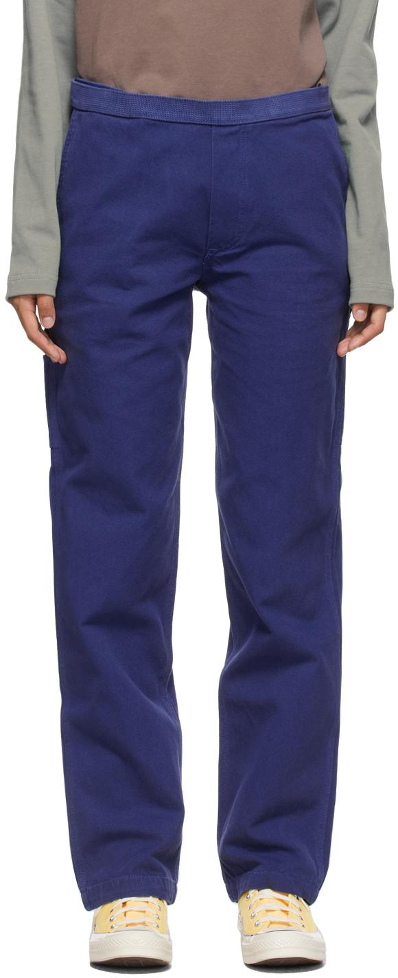 Navy Hard Ware/Soft Wear Carpenter Trousers