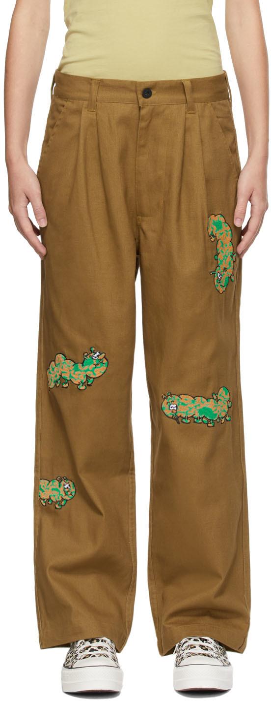 Brown Caterpillar Trousers