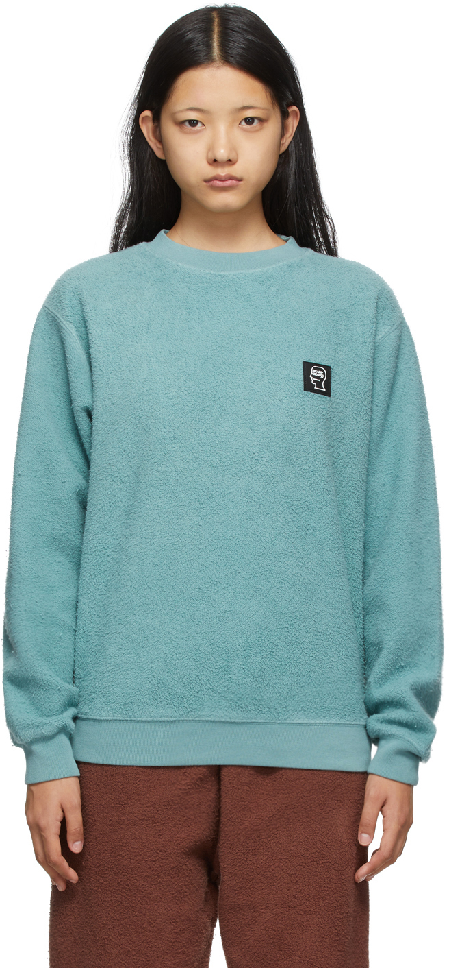 Green Reverse Fleece Sweatshirt