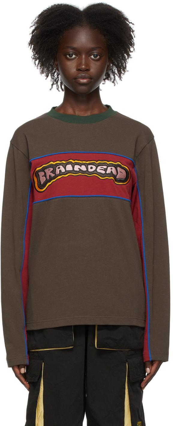 SSENSE Exclusive Brown Them Skates Edition Pushers Sweatshirt