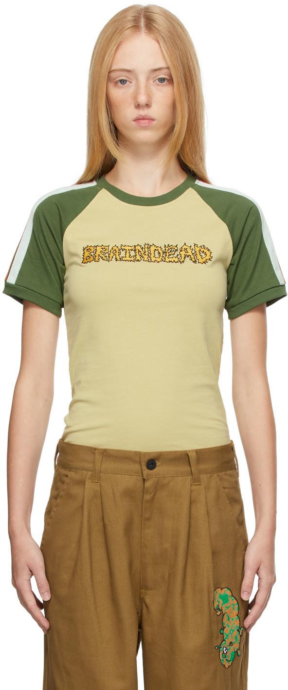Green Vintage Raglan T-Shirt