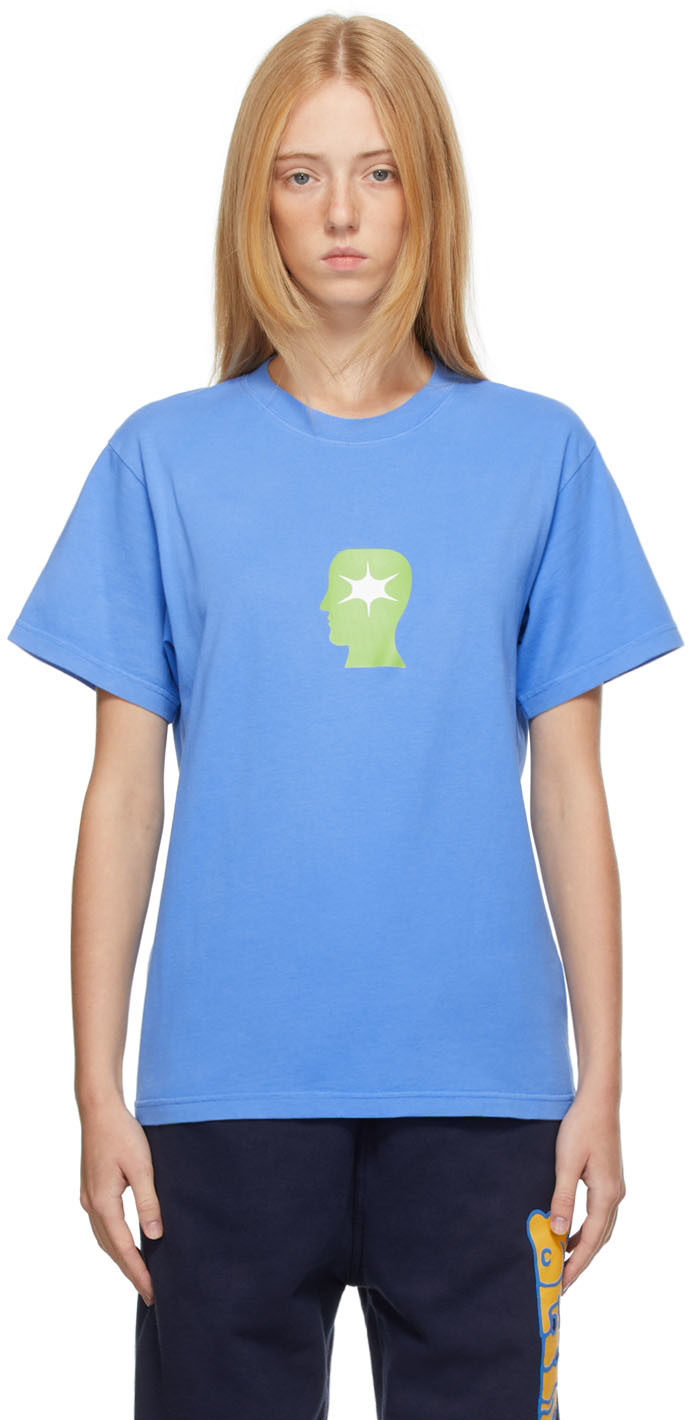 Blue Wide Eye T-Shirt