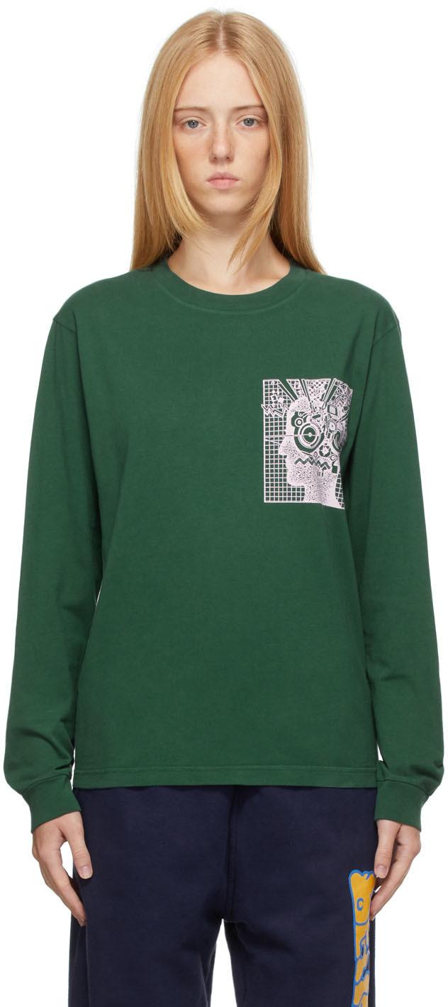 Green DNA Long Sleeve T-Shirt
