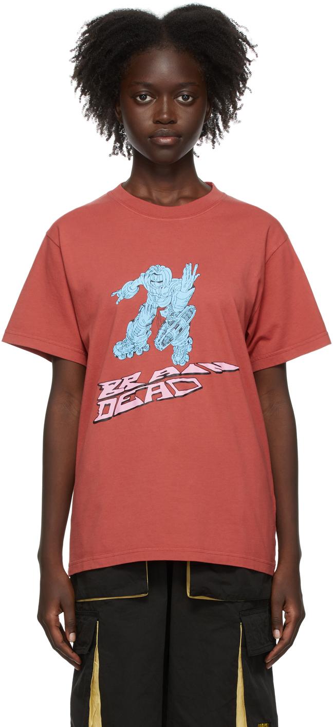 SSENSE Exclusive Red Them Skates Edition Blaster T-Shirt