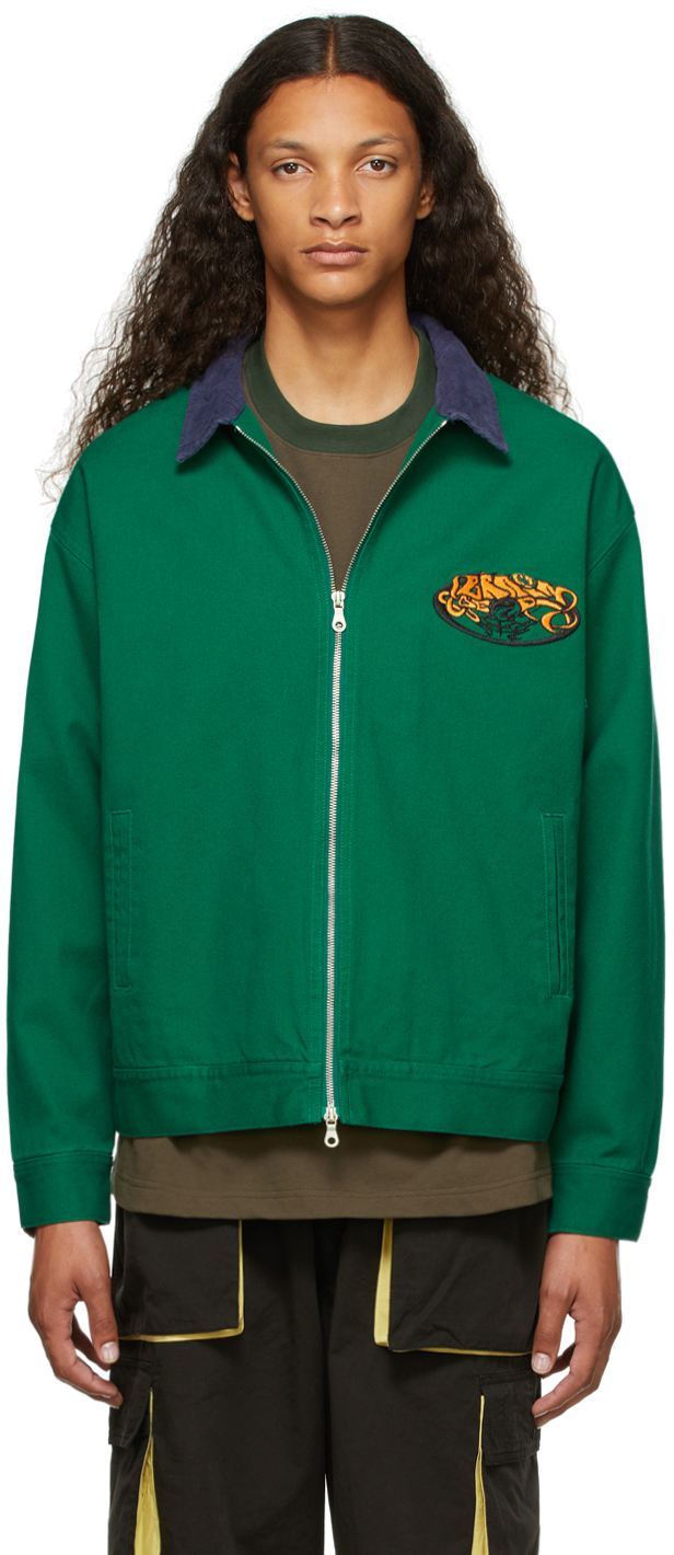 SSENSE Exclusive Green Them Skates Edition Team Jacket