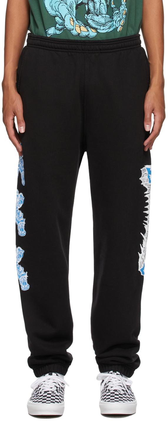 Black Brolic Lounge Pants