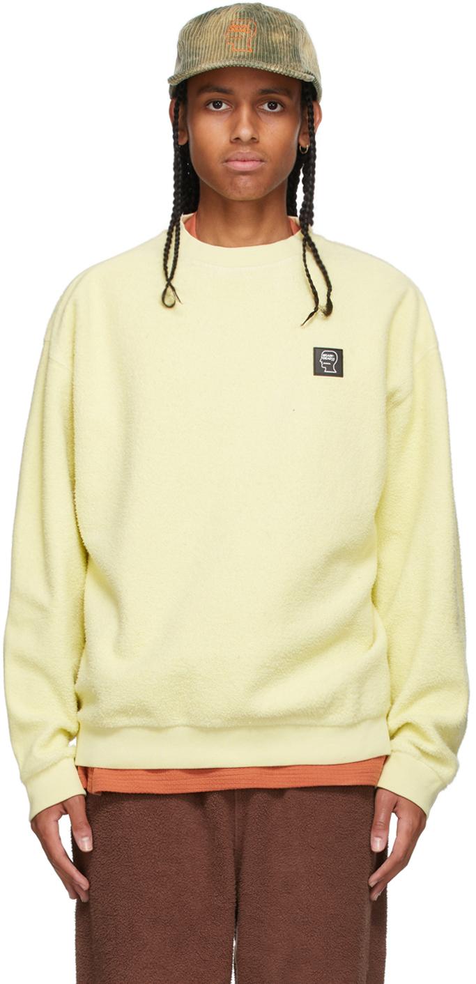 Yellow Reverse Fleece Sweatshirt